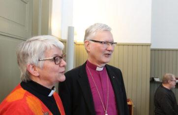 Piispa Seppo Häkkinen otti Orimattilan haltuunsa