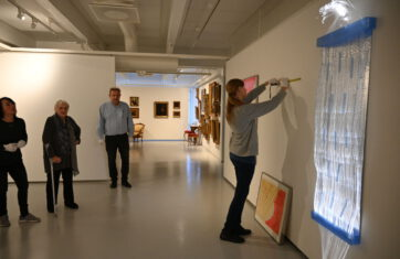 Taidemuseolla Maija ja Ahti Lavosen yhteisnäyttely