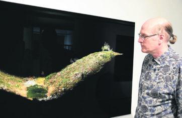 Ilkka Halson näyttelyssä viipaloidaan luontoa